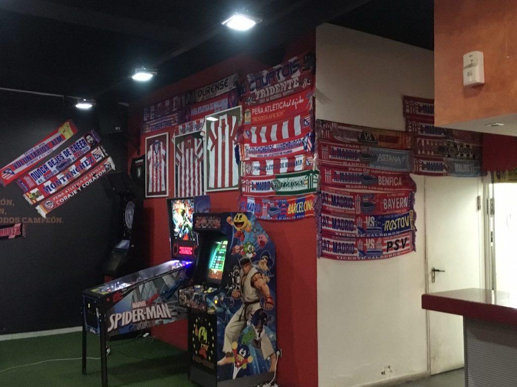 Wedstrijd Atlético Madrid